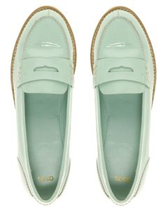 mint-ish? loafers