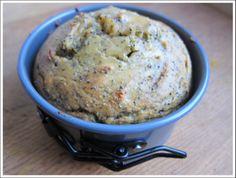 paleo lemon poppy seed muffins / mini cake