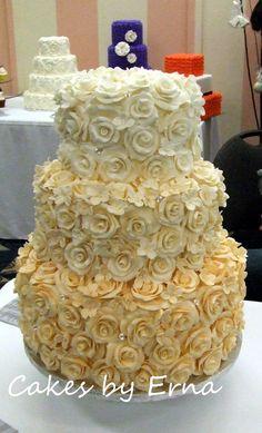 Rose Cake ~ The Perfect Wedding Cake