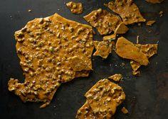 Salted Pistachio Brittle - Bon Appétit