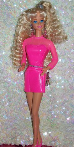 1992 Earring Magic Barbie by StanleytheBarbieman, via Flickr earring magic, 1992 earring