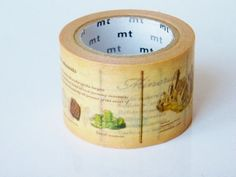 MT Encyclopedia Japanese Washi Tape / 30mm by littlehappythings1