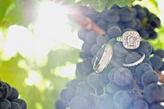 Wine Wedding Ring