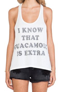 Guacamole Tank