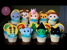 How to Make Wizard of Oz Cupcake Toppers; A McGreevy Cakes Tutorial