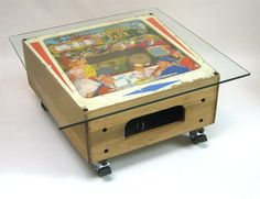 This coffee table is made from a decommissioned 60's Central Park pinball machine! By SomethingOrOtherUk, £750.00