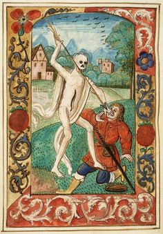 Death of The Everyman. Dutch Hours. 1470.