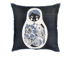 Matryoshka Russian Nesting Doll Pillow