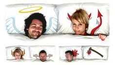 beds, pillow talk, funny pictures, pillow covers, angels, guest rooms, design, pillows, bed sheets