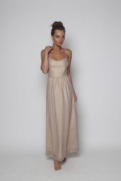 Maxi Dress Rose Dot