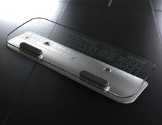 Multitouch Tempered Glass Keyboard mice, temper glass, technology, big thing, stuff, glasses, glass keyboard, tech drool, techno geek