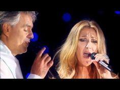 CELINE DION & ANDREA BOCELLI  ~ The Prayer. Live in Central Park 2011.