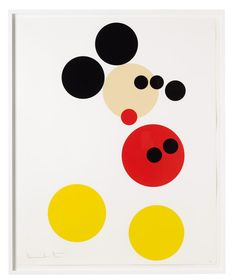 """Damien Hirst """"Mickey"""" Print for Other Criteria"""