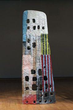John Balistreri |  'Wing'.  Soda-fired stoneware with slip and glaze. @designerwallace