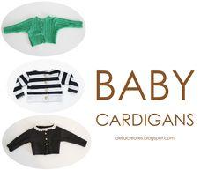 delia creates: Baby Cardigans