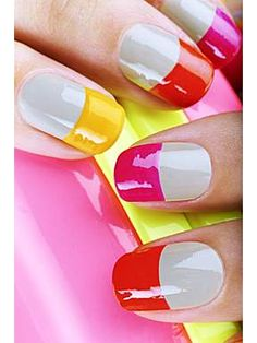 Neon & Nude Collection Nails Inc