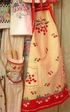 Pretty aprons.