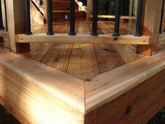 cedar deck design