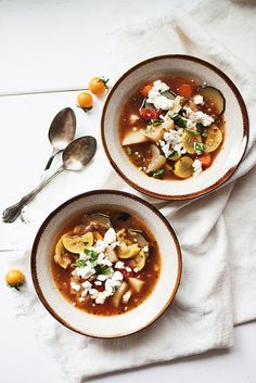 end of summer minestrone