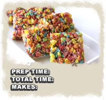 Fruity Pebbles Crispy Treats