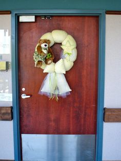 Cristy's Baby Wreaths    A unique way to announce your baby's arrival.