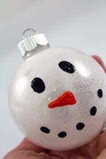 Craft-e-Corner Blog * Celebrate Your Creativity: Easy 6 Step Pledge Glitter Ornaments