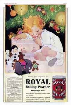 Vintage Ad- Royal