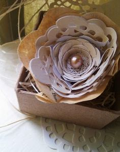love this paper flower