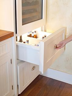Beer drawer under wine fridge. Yes please! wine cooler kitchen, beer drawer, interior design, design homes, home interiors, wine fridg, hous, new kitchens, beer fridge