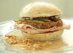Thanksgiving Sandwich #healthy #quick #turkey