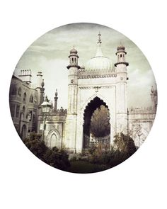 through the gate by theswanandthefox on Etsy