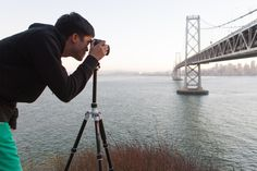Eureka! We found the best tripod ever. This lightweight wonder folds up tiny, and stretches out tall. It even converts into a monopod.  Get the Convertible Roadtrip Tripod in the store for only $189!