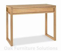 Studio desk, oak (102cm wide), £207 x48