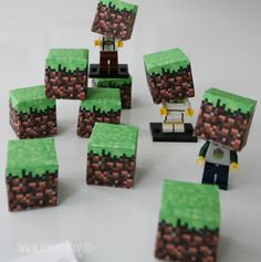 SUCCESS: Cam's class loved it  minecraft valentine mini box heads - Cameron will love this!