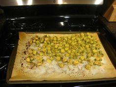 bake okra, spirals, side, spatula, food idea, dish recip, healthier food, healthi recip, baked okra