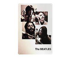 Chapa Retro Beatles - 20x30 III