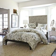 love this green leaf bedding http://rstyle.me/n/rm6t5r9te