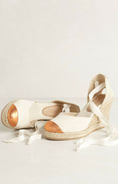 Amazois Rose Gold Capped Wedges! #MallyTrends