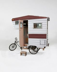 Mobile home bicycle