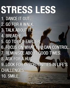 Things to keep in mind.
