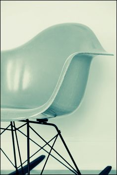 turquoise eames rocker?! yes please!