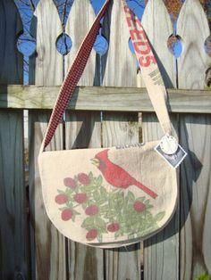vintage Cardinal messenger bag