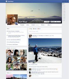 Facebook anuncia nova linha do tempo