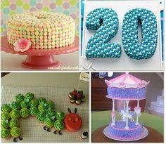 28 Cupcake and Birthday Cake Ideas