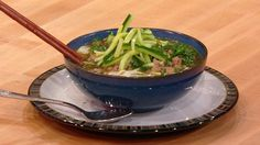 ...Chicken and Green Noodle Soup - Rachel Ray -- Easy fixes to makes this Paleo--