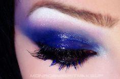 Joan Jett glossy navy eyes