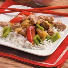 Chinese New Year Skillet Recipe from Taste of Home -- shared by Sherilyn West of Lubbock, Texas