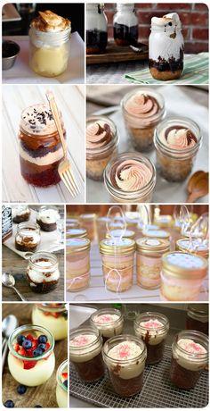 Cake in Jar Recipes