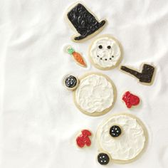 Snowman Cutouts Recipe from Taste of Home