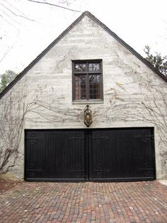 great garage doors...via southern hospitality blog